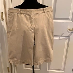 TALBOTS DRAGONFLY SHORTS 12